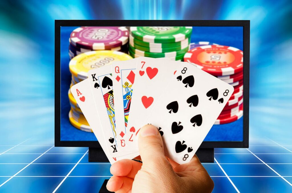 Interactive gambling consists of gambling activities which take place